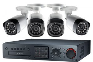 HD video security camera system installation in Florida